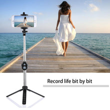Extendable Selfie Stick, Tripod/Monopod with Bluetooth Remote
