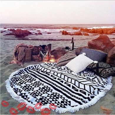Zoe - Large Beach Towel - Much More Decor