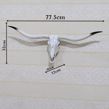 Animal Longhorn Skull - Much More Decor