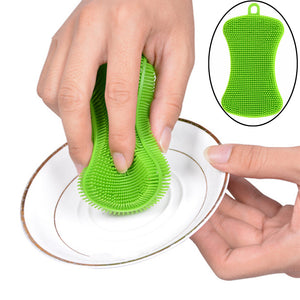 Silicone Dish Washing Sponge - Much More Decor