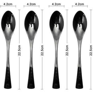 Black Cutlery Set - Much More Decor