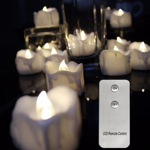 Decorative candles - Remote control - Much More Decor