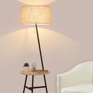 Wooden Floor Lamp - Much More Decor