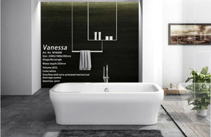 Caden - Freestanding Bathtub - Much More Decor