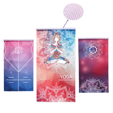 Evelyn - Print Yoga Mat - Much More Decor