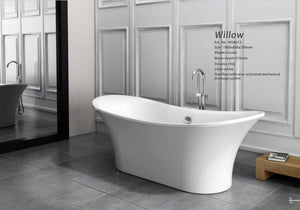 Independent ellipse shaped bathtub - Much More Decor