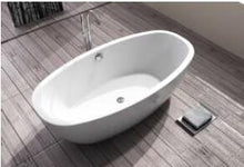 Fiberglass Freestanding Oval Bathtub - Much More Decor