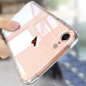 Transparent Soft Silicone Case For iPhone