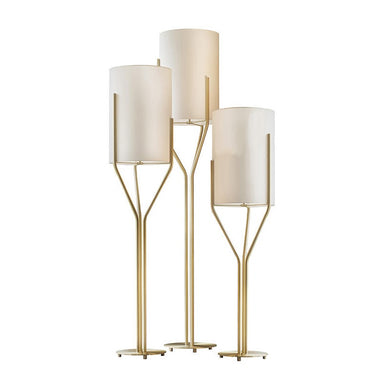 Brass Floor Lamp - Much More Decor