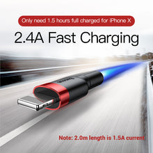 Kevlar Rapid Charge iPhone Cable