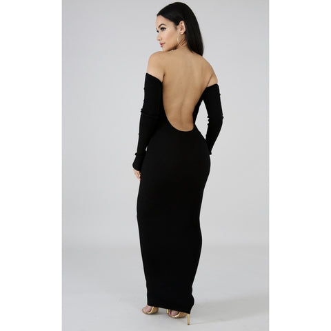 Kylie's Obsession Maxi Dress - Glam Luxe Couture