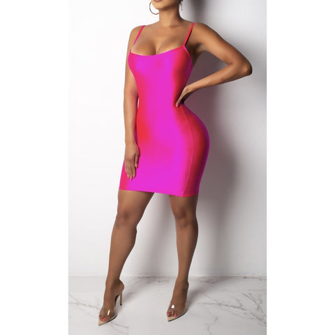 Pink Everything Body-Con Mini - Glam Luxe Couture