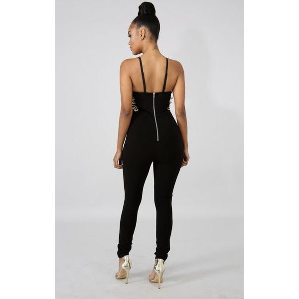 Royalty Glam Jumpsuit - Glam Luxe Couture