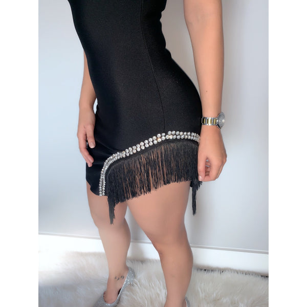 Ready For The Show Mini Dress - Glam Luxe Couture