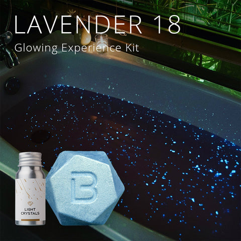 LAVENDER 18 Glowing Experience Kit