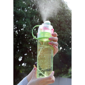 Frosted Spray Leak-Proof Water Bottle-The Yoga Gear