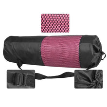 Load image into Gallery viewer, Black Mesh Yoga Mat Bag-The Yoga Gear
