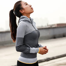 Load image into Gallery viewer, Hooded Running Jacket great for Yoga