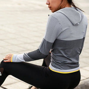 Hooded Running Jacket great for Yoga
