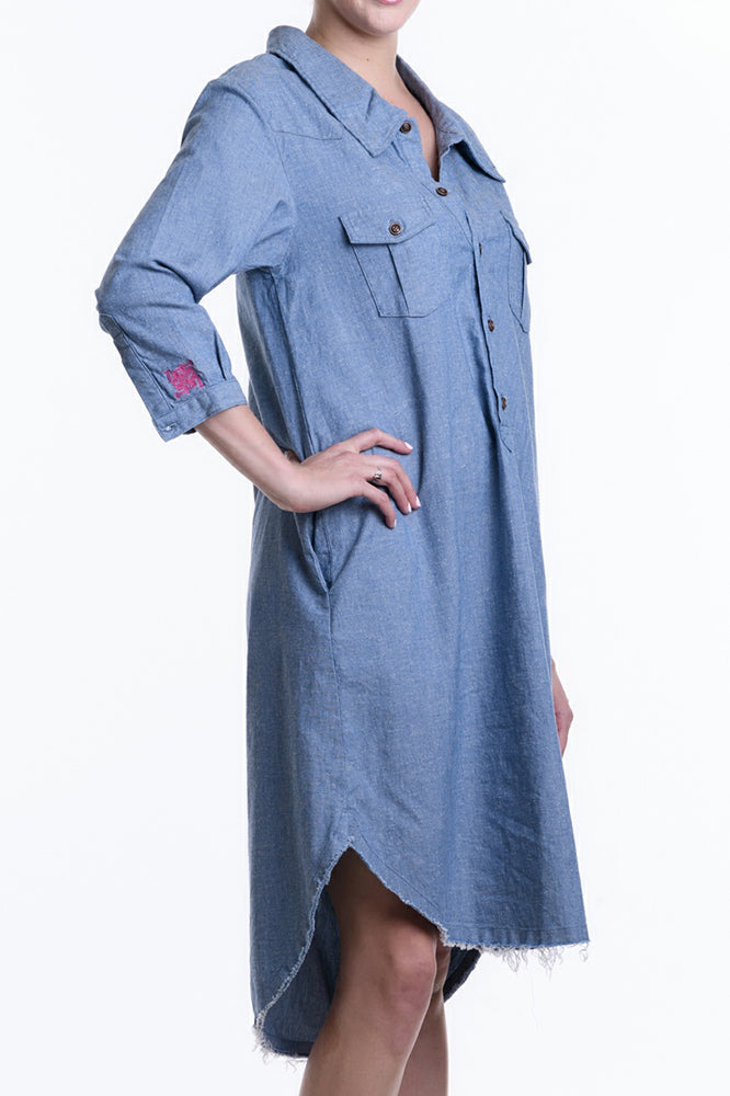 Angela Denim Dress