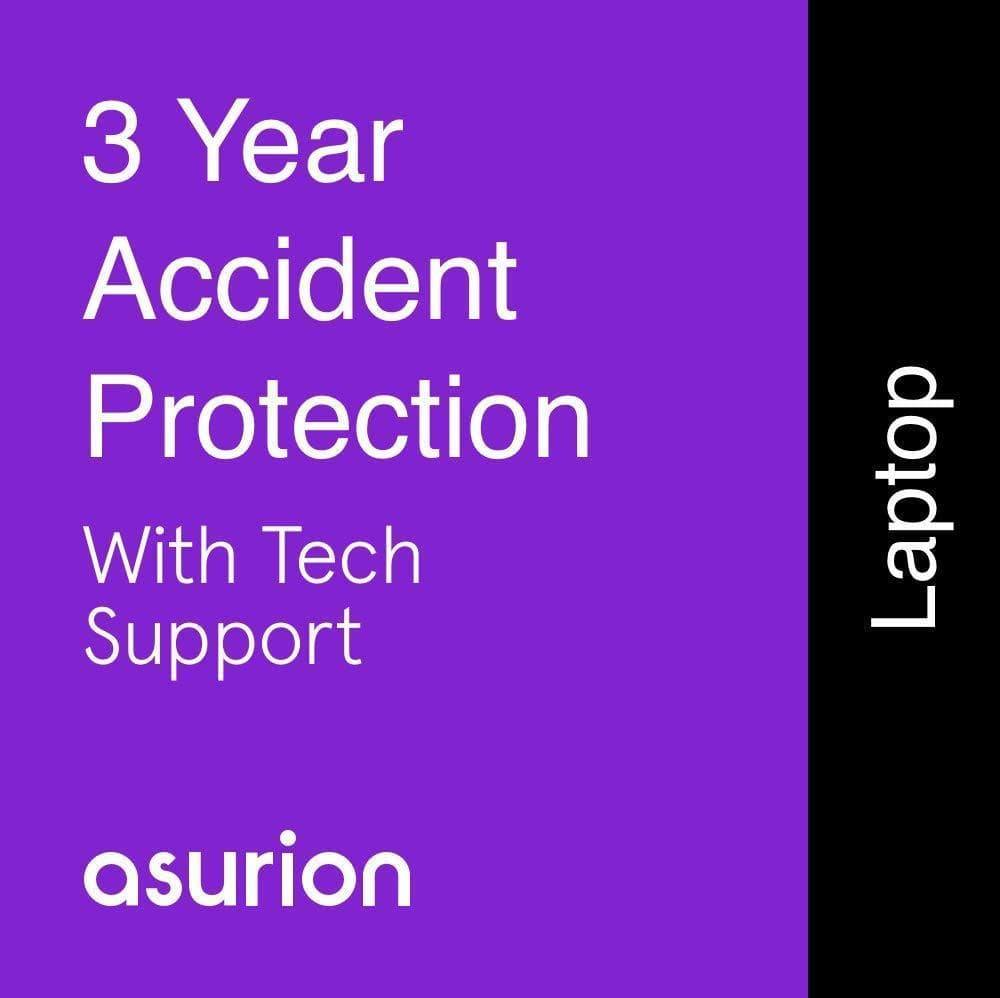 3 years Laptop Accident Protection Plan with Tech Support