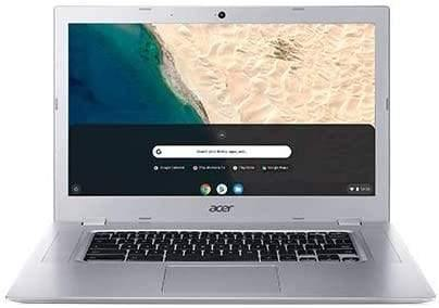 "Acer Chromebook 315 15.6"" Laptop Computer/ Touchscreen/ 1920 x 1080/ AMD A4-9120C 1.6GHz/ 4GB RAM/ 64GB eMMC/ 10 Hours Battery/ Chrome OS/ Silver/ Tablet for Business Education"