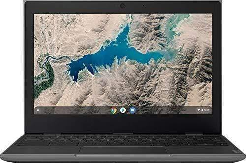 "2020 Lenovo 11.6"" Chromebook Quad-Core CPU Thin and Light Webcam Type-C USB 2x2 AC WiFi HDMI Chrome OS Laptop Computer for Business Student, 4GB RAM 32GB Storage"