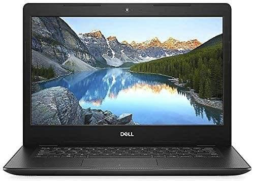 "Dell Inspiron 14 14"" Laptop Computer, Intel Pentium Gold 5405U 2.3GHz, 802.11AC WiFi, Bluetooth 4.1, USB 3.1, HDMI, Black, Windows 10 Home in S"