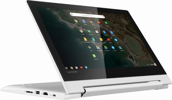 "Lenovo 11.6"" HD IPS Touchscreen 2-in-1 Chromebook, Quad-Core MediaTek MT8173C (4C, 2X A72 + 2X A53), 4GB RAM, 32GB eMMC, 802.11ac WiFi, Bluetooth 4.2, HDMI, Type-C, Chrome OS"