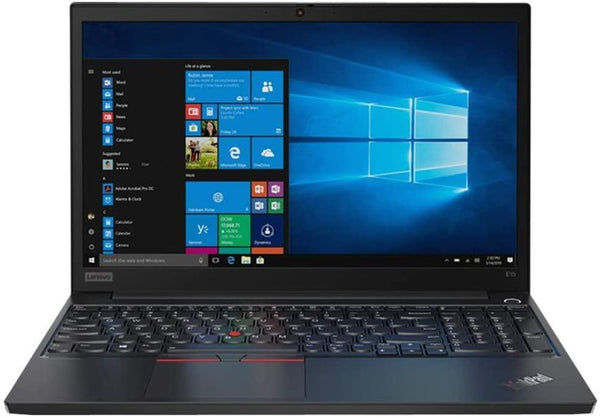 "Lenovo ThinkPad E15 15.6"" FHD Business Laptop Computer, 10th Gen Intel Quad-Core i5 10210U Up to 4.2GHz (Beats i7-7500U), 4GB DDR4 RAM, 500GB HDD, AC WiFi, Black, Windows 10 Pro"