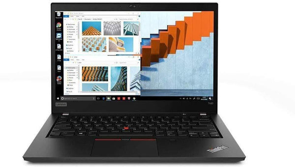 "Lenovo ThinkPad T490 14"" FHD Business Laptop Computer, Intel Quad-Core i5-8265U (Beats i7-7500U), 8GB DDR4, 256GB PCIe SSD, Fingerprint, Online Class Ready, Windows 10 Pro - PowerPCmall"