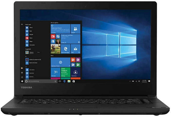 "TOSHIBA Tecra C40-D 14 14.4"" Business Laptop Computer: Intel Core i5-7200U up to 3.1GHz/ 8GB DDR4 RAM/ 256GB SSD/ 802.11ac WiFi/ Bluetooth/ HDMI/ USB 3.0/ Windows 10 Professional"