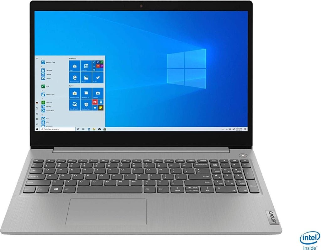 "2020 Lenovo Ideapad 3 15 Laptop Computer_ 15.6"" FHD_ 10th Gen Intel Core i3-1005G1 Beat i5-7200U_ Platinum Grey_ Windows 10_Online Class Ready - PowerPCmall"