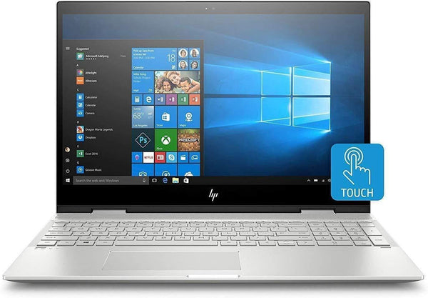 "2020 HP Envy x360 15.6"" FHD Touchscreen 2-in-1 Laptop Computer, 8th Gen Intel Quad-Core i7 8565U, 8GB DDR4 RAM, 256GB PCIe SSD, NVIDIA GeForce MX150 4GB, Windows 10"