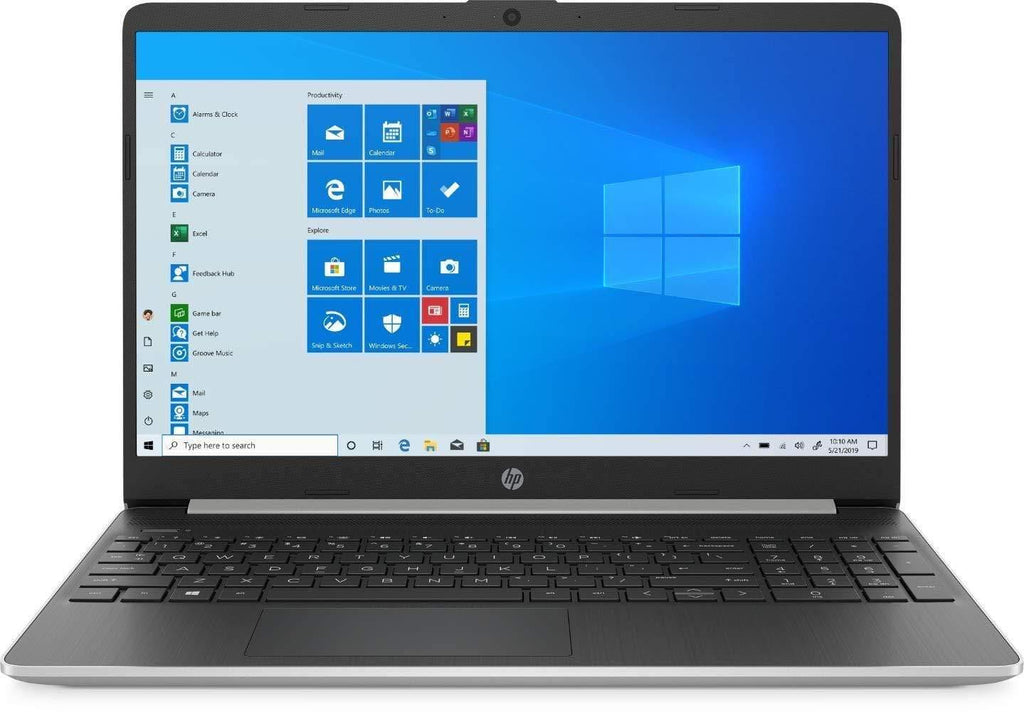 "HP 15.6"" Touchscreen Laptop Computer, Quad-Core AMD Ryzen 7 3700U up to 4.0GHz, 12GB DDR4 RAM, 256GB PCIe SSD, 802.11ac WiFi, Bluetooth 4.2, USB 3.1 Type-C, HDMI, Silver, Windows 10 Home"