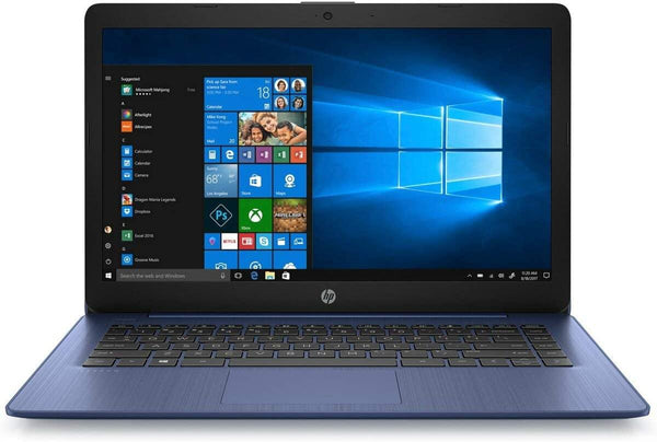 "2020 HP Stream 14 14"" Touchscreen Laptop Computer, AMD A4-9120e up to 2.2GHz, 4GB DDR4 RAM, 64GB eMMC, 802.11ac WiFi, USB 3.1, HDMI, Blue, Windows 10 Home in S Mode(Renewed)"