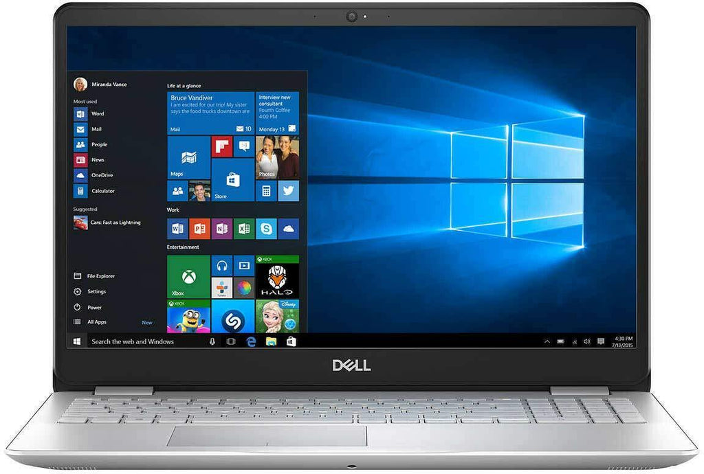 "Dell Inspiron 15.6"" FHD Touchscreen Laptop Computer, 8th Gen Intel Quad-Core i5-8265U up to 3.9GHz, AC WiFi, USB 3.1, HDMI, Windows 10, Up to 12GB 16GB 20GB 24GB 32GB DDR4, 1TB HDD 256GB 512GB 1TB 2TB SSD, Extra Storage 128GB 256GB 512GB 1TB 2TB SSD"