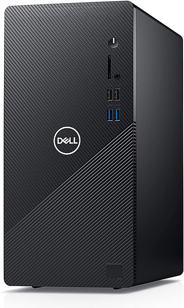 2020 Dell Inspiron 3880 Desktop Computer/ 10th Gen Intel Quad-Core i3-10100 up to 4.3GHz/Black/VGA/HDMI/WiFi/Windows 10 Home - PowerPCmall