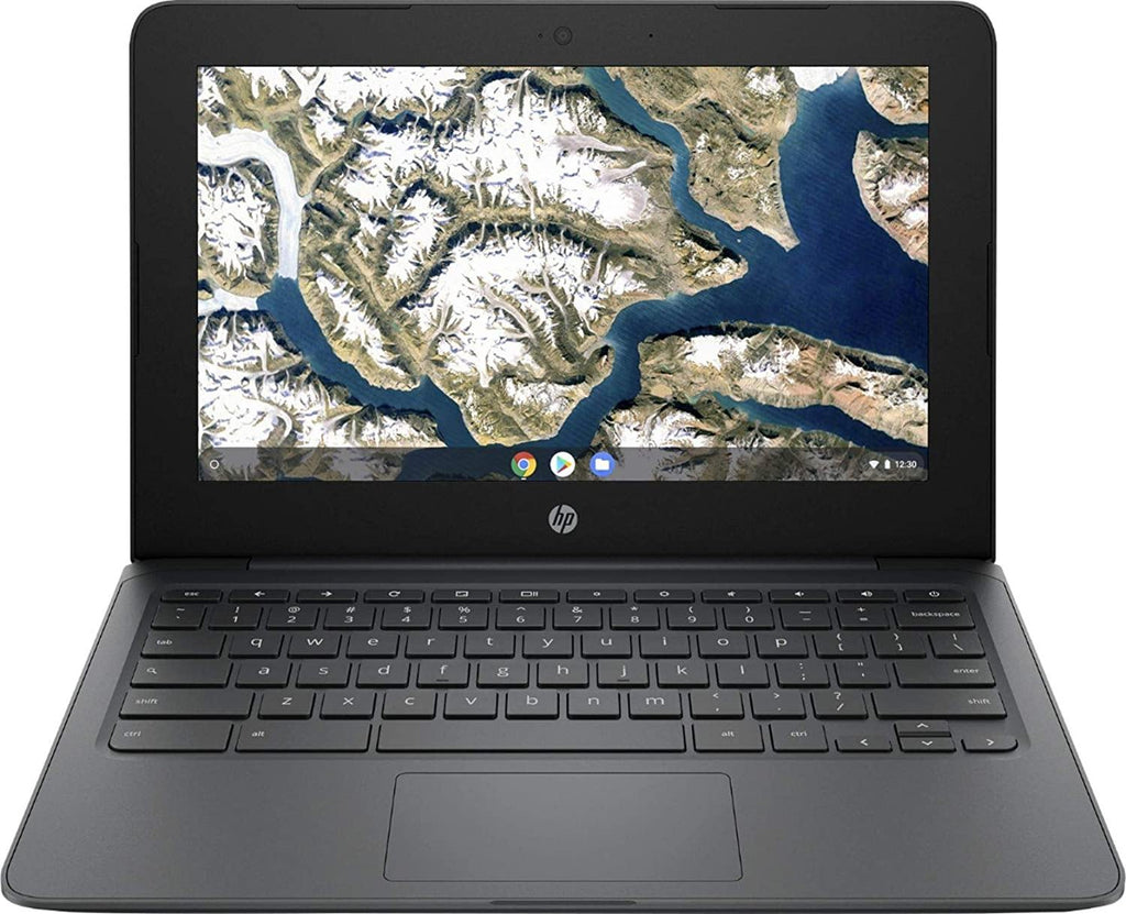 "HP Chromebook 11.6"" Laptop Computer for Student/ Intel Celeron N3350 up to 2.4GHz/ AC WiFi/ Microphone/ Webcam/ Type-C/ Gray/ Chrome OS - PowerPCmall"