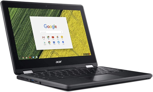 "(Renewed) Acer Chromebook Spin 11 2-in-1 11.6"" Touchscreen Laptop Computer, Intel Celeron N3350 up to 2.4GHz, 4GB LPDDR4 RAM, 32GB eMMC, 802.11AC WiFi, Type-C, Black, Chrome OS"