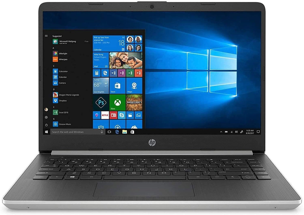 "2020 HP 14 14"" Micro-Edge Laptop Computer, AMD Ryzen 3 3200U up to 3.5GHz (Beats i5-7200U), 802.11AC WiFi, Bluetooth 4.2, HDMI, USB Type-C, Windows 10 Home"