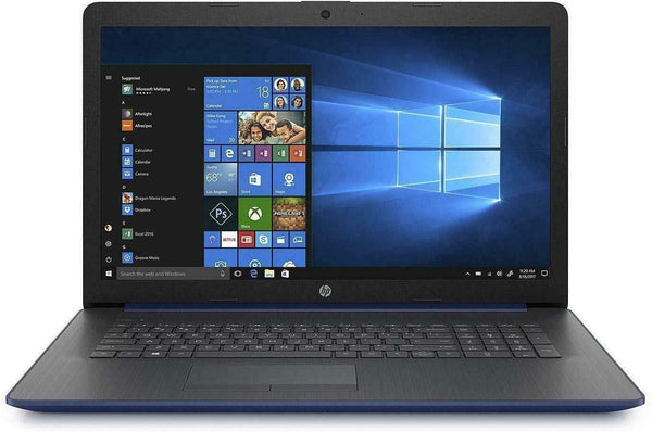 "2019 HP 17.3"" HD+ Touchscreen Laptop Computer, 8th Gen Intel Quad-Core i7 8565U up to 4.6GHz,DVDRW,802.11ac WiFi,Lumiere Blue,Windows 10. Upgrade 8GB 16GB 24GB to 32GB DDR4 RAM; Hard Drive from 256GB 512GB 1TB to 2TB PCIE SSD;Choose Extra Storage 1TB HDD"