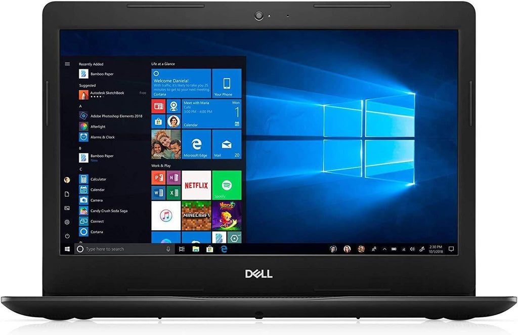 "Dell Inspiron 2020 14""HD Laptop Computer, 4-Core Intel i5-1035G4 up to 3.7 GHz, Iris Plus Graphics, 8GB RAM, 128GB SSD, Webcam,Bluetooth,Wi-Fi,HDMI, Win 10 S"