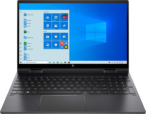 "HP Envy x360 2-in-1 15.6"" FHD Touchscreen Laptop Computer, Hexa-Core AMD Ryzen 5 4500U up to 4.0GHz (Beats i5-1035G1), WiFi 6, Black, Windows 10"