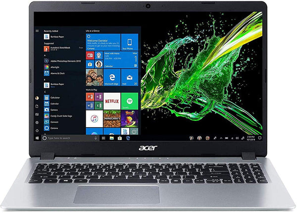 "Acer Aspire 5 15.6"" FHD Laptop Computer, AMD Ryzen 3 3200U Up to 3.5GHz (Beats i5-7200U),  802.11ac WiFi, HDMI, Backlit Keyboard, Silver, Windows 10"