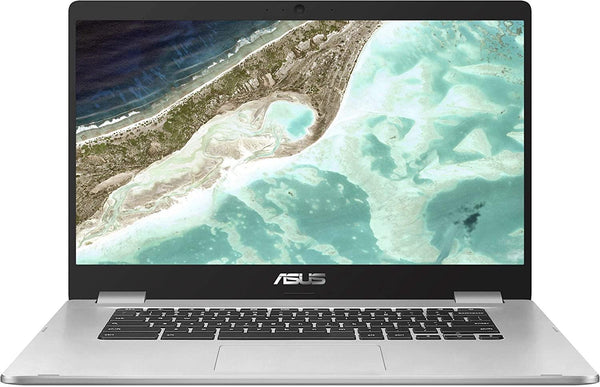 "Asus C523NA Chromebook 15.6"" FHD Laptop Computer, Intel Celeron N3350 up to 2.4GHz, 802.11ac WiFi, Bluetooth, USB 3.1, Webcam, Online Class Ready, Chrome OS"