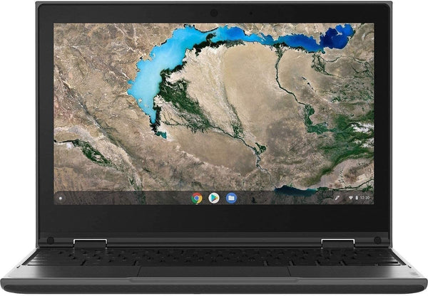 "2020 Lenovo 300e Chromebook Gen2 2-in-1 11.6"" Touchscreen Laptop Computer, AMD A4-9120C up to 2.4GHz, 4GB DDR4 RAM, 32GB eMMC, 802.11AC WiFi, 720p Webcam, Type-C, Black, Chrome OS"
