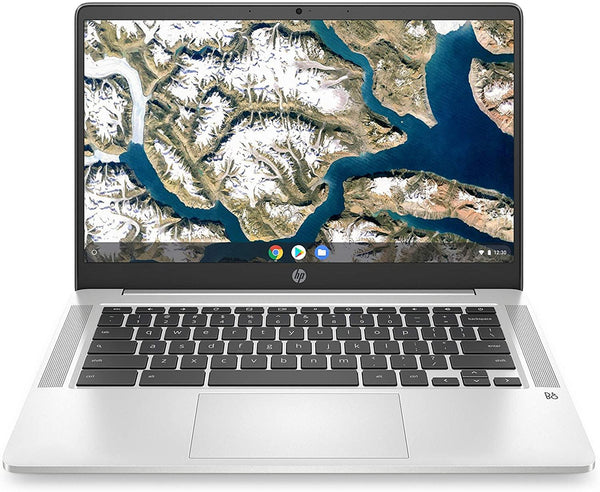 "HP Chromebook 14"" Laptop Computer for Education or Student, Intel Quad-Core Pentium Silver N5000 up to 2.7GHz,  AC WiFi, Webcam, Chrome OS, Online Class Ready - PowerPCmall"