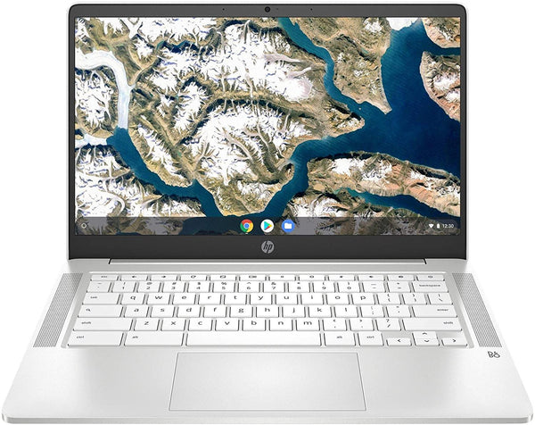 "HP Chromebook 14 14"" Laptop Computer for Education or Student/ Intel Celeron N4000 Up to 2.6GHz/ Up to 13+ Hrs Battery/ Webcam/ Online Class Ready/ Chrome OS - PowerPCmall"