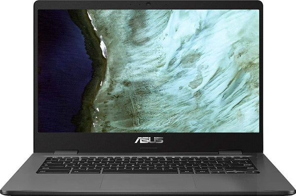 "ASUS Chromebook C423 14"" Laptop Computer for Business Student, Intel Celeron N3350 up to 2.4GHz, 802.11AC WiFi, Webcam, Type-C, Online Class Ready, Chrome OS - PowerPCmall"